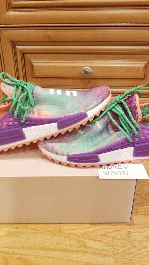 8bebb42f3 Adidas Pharrell HU Holi NMD Multi chalk coral size 9.5 (Clothing   Shoes)  in Hacienda Heights