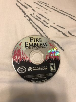 Fire emblem path of radiance GCN GameCube Nintendo