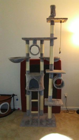 7 foot tall cat tree