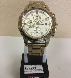 Fossil Mens Watch FS4867 Used