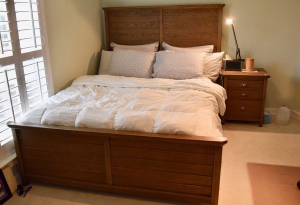 Queen Bed Set And Mattress1 Yr Old Furniture In Allen Tx