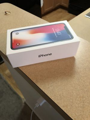 Empty IPhone X box for sale!