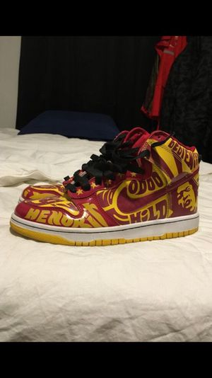 RARE Jimmy Hendrix Nike Dunks - Size 10