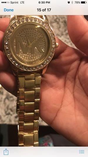 Mk watch new never used