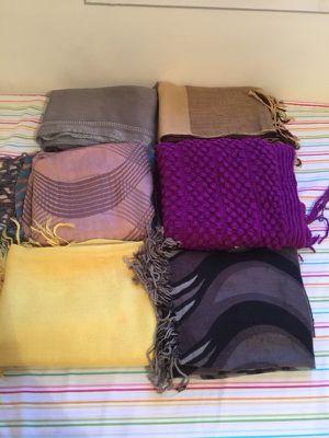 Women's winter scarfs