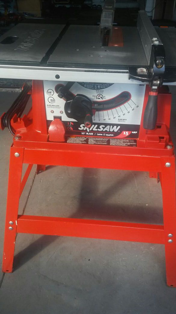 Skilsaw table 10 15amp model3400 tools machinery in orlando skilsaw table 10 15amp model greentooth Choice Image