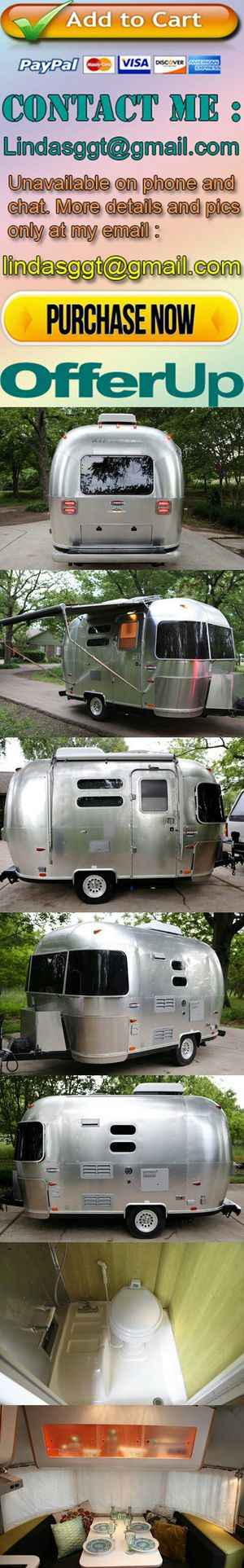 2005 Airstream Bambi Camper Rv Travel Trailer