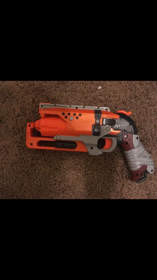 Zombie Nerf Gun