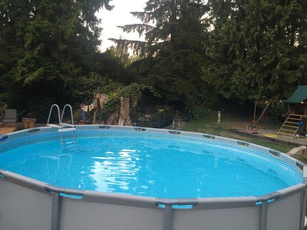 Intex 16x48 Ultra Frame Pool Full Set W Saltwater System