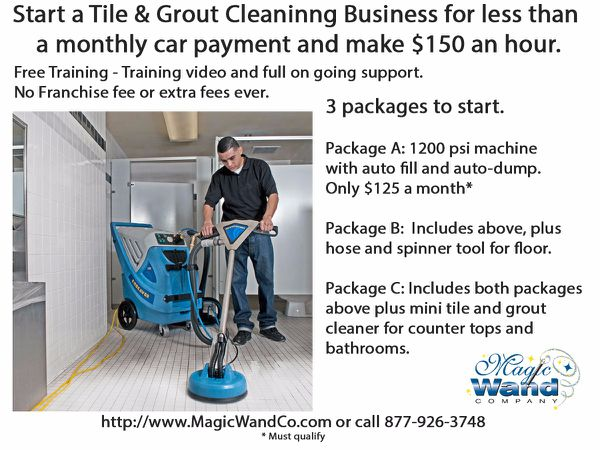 Start tile grout cleaning business 0 down 125 a month business start tile grout cleaning business 0 down 125 a month ppazfo