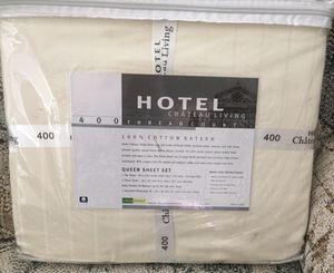 Queen sheet set - 400 thread count