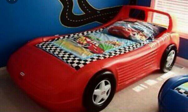 Little Tikes Corvette Race Car Bed Twin Size. Little Tikes Corvette Race Car Bed Twin Size   Baby   Kids   in