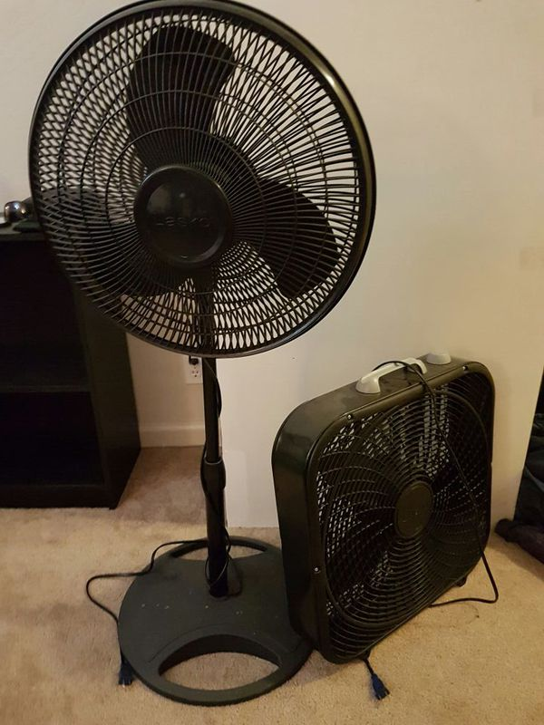 Box Fan Stand : For fans lasko stand fan and box black