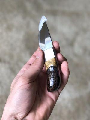 Custom double sided knife handle
