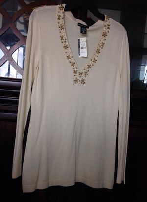 NEW YORK & Company. Women's Top Bage Colors, Size M