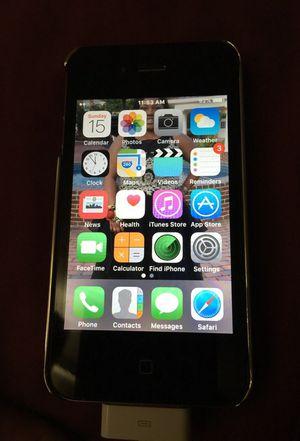 Straightalk iPhone 4s Black