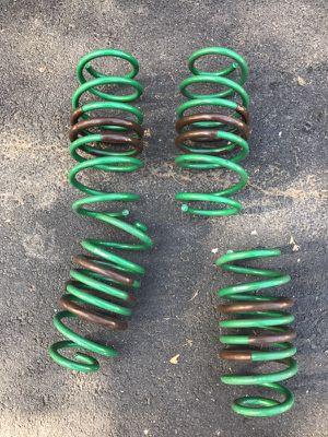 Honda lowering springs