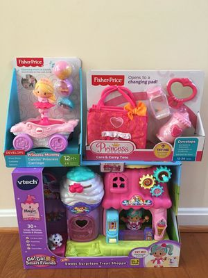 VTech Go Go Smart Friends and Fisher Price Toys (New in Boxes)