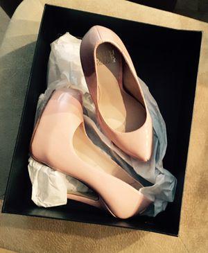 New Patel pink name brand heels size 6