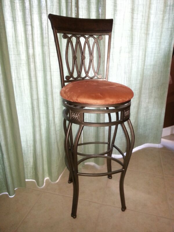 Bar stools wrought iron quot high furniture in