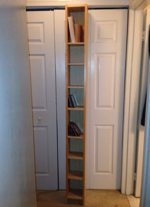 IKEA cd/bookshelf for sale (cds and books shown as example)