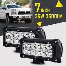 Brand new 7 inch led fog lights