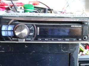 I have a Alpine CD player with auxiliary port USB port in new condition