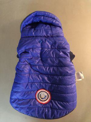 Double sided winter pet jacket