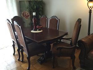 Matching Dining Table And Tv Unit Priced To Sell