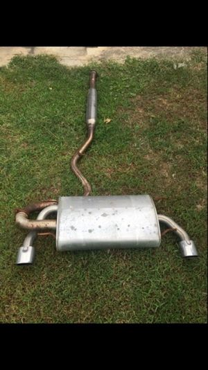 Frs OEM Exhaust.