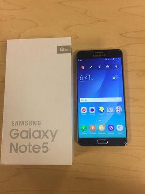 Samsung Galaxy Note 5 (32gb) Factory Unlocked