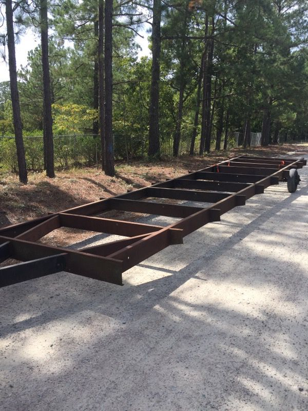 two axle mobile home frame - Mobile Home Frame