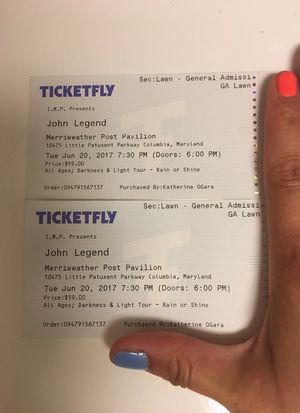 John Legend tickets