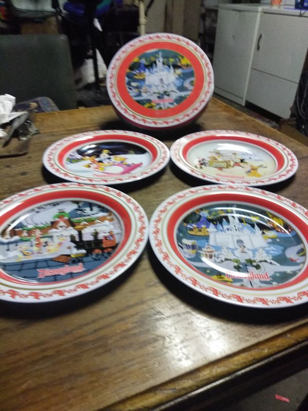 disney tin plate set collectibles in manteca ca offerup
