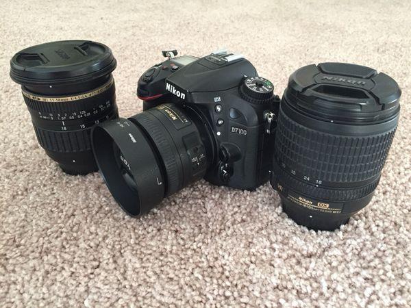 Nikon D7100 DSLR set