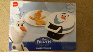Brand new Elsa waffle maker