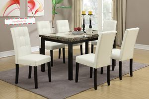 7 piece dining room Set under $500.. please visit (iNeedBed. info) for more details