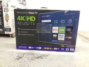 "Insignia 4K 43"" LED TV"