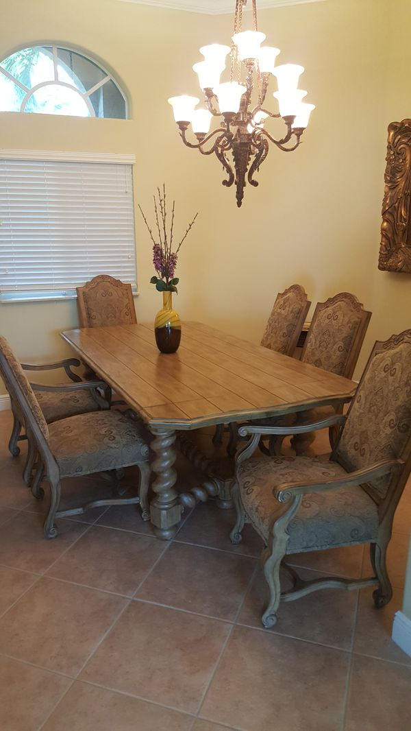 Dining Room Table Bernhardt Coronado Collection Furniture In Miami FL