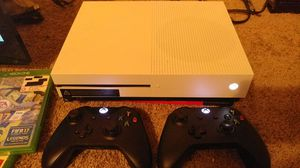 Xbox one S 1TB everything works perfectly !!! 2 games 2 controller .