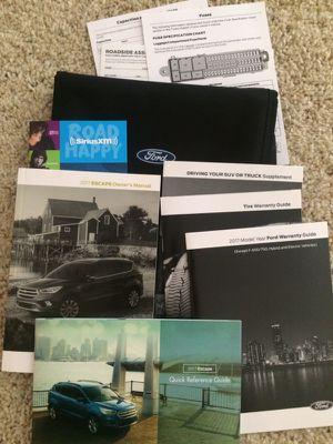 2017 Ford Escape Manual Set