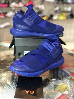 Dark blue Y-3 qasa high size 10