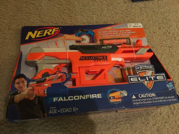 Nerf Accustrike Falconfire N-Strike Elite Toy Christmas Gift (Games & Toys)  in Milpitas, CA
