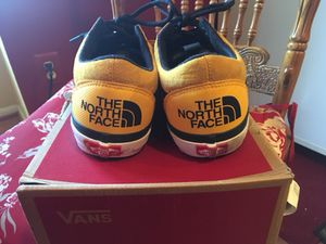 VERY RARE VANS X NORTH FACE SZ 10