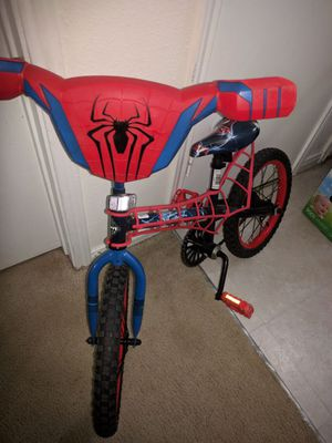 Spiderman bike 16""