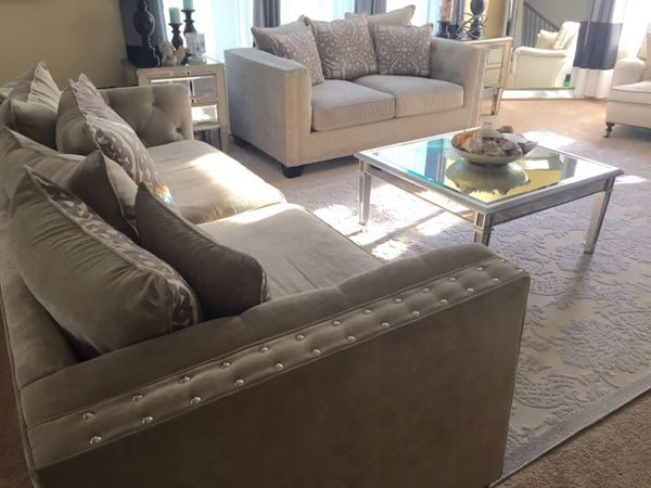 Sidney Road 3 Pc Living Room Set From Cindy Crawford Home
