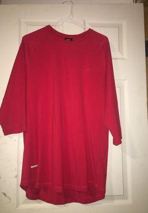Red Publish T- Shirt - Size XL