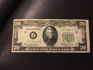 $20 1950 A silver certificate