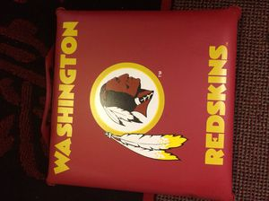 Redskins Game seat cushion. Feel free to make an offer.