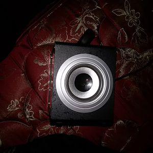 Double sided speaker